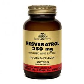 SOLGAR Resveratrol 250mg 30 δισκία