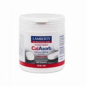 LAMBERTS CalAsorb - Calcium Ασβέστιο 800mg  60 δισκία