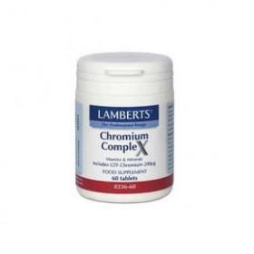 LAMBERTS Chromium Complex Χρώμιο 60 δισκία