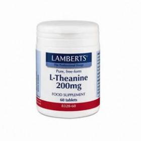 LAMBERTS L-Theanine Θειανίνη 200 mg 60 δισκία