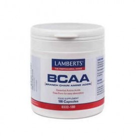 LAMBERTS BCAA - Branch Chain Amino Acids Λευκίνη Ισολευκίνη Βαλίνη 180 δισκία
