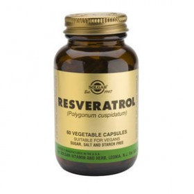 SOLGAR Resveratrol 100mg 60 δισκία