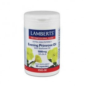 LAMBERTS Evening Primrose Oil with Starflower Oil 1100mg (Ωμέγα 6) 90 δισκία
