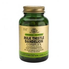 SOLGAR Milk Thistle Dandelion Complex 50 δισκία