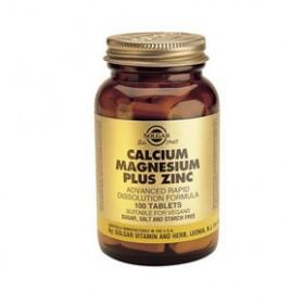 SOLGAR Calcium Magnesium Plus Zinc 100 δισκία