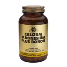 SOLGAR Calcium Magnesium Plus Boron 100 δισκία