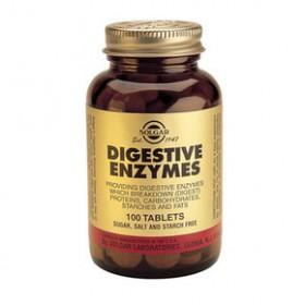 SOLGAR Digestive Enzymes 100 δισκία