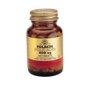 SOLGAR Folacin (Folic Acid) 400mg 100 δισκία