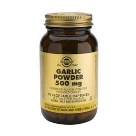 SOLGAR Garlic Powder 500mg 90 δισκία