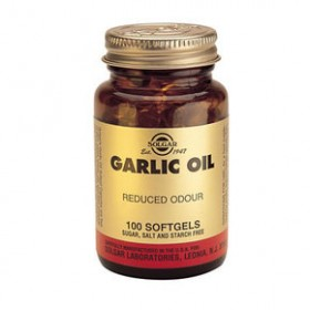 SOLGAR Garlic Oil 100 δισκία