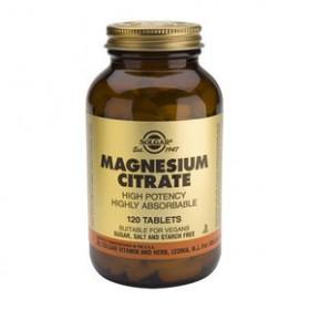 SOLGAR Magnesium Citrate 120 δισκία