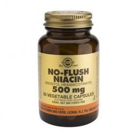 SOLGAR No Flush Niacin 500mg 50 δισκία