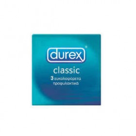 DUREX Classic Προφυλακτικά 3τμχ