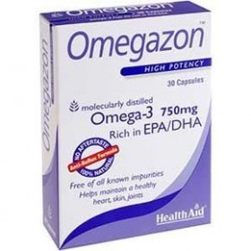 HEALTH AID Omegazon EPA/DHA 750mg 30 caps