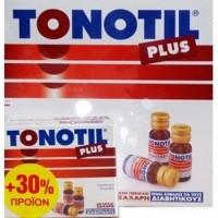 TONOTIL Plus 10 Αμπούλες 10 ml+ 3 Αμπούλες Δώρο