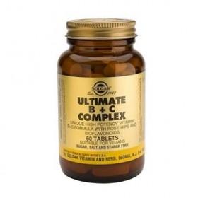 SOLGAR Ultimate B+C Complex tabs 60s