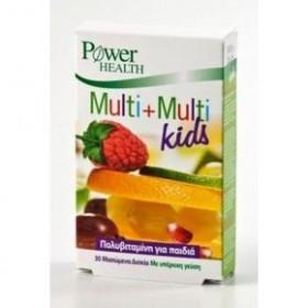 POWER HEALTH Multi+Multi Kids 30μασ. δισκ.