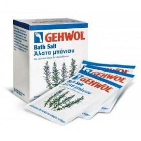 GEHWOL Bath Salt Άλατα Μπάνιου φακελάκια των 25g