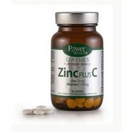 POWER HEALTH Zinc Plus C 30 tabs