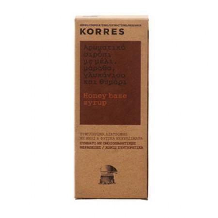 KORRES Σιρόπι για το Λαιμό με Μέλι Γλυκάνισο και Θυμάρι 200ml