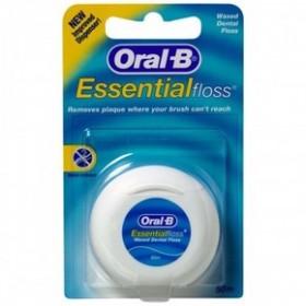 ORAL-B Κηρωμένο Οδοντικό Νήμα Essential Floss 50m