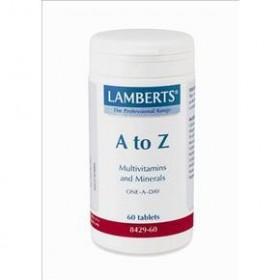 LAMBERTS A to Z Πολυβιταμίνες 30 Tablets
