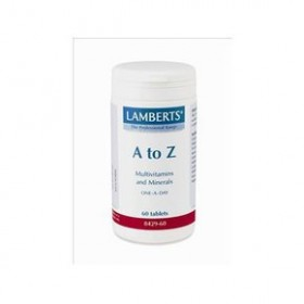 LAMBERTS A to Z Πολυβιταμίνες 60 tabs
