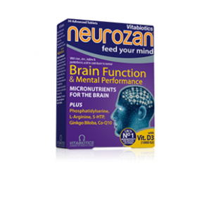 VITABIOTICS Neurozan Original 30 Tablets