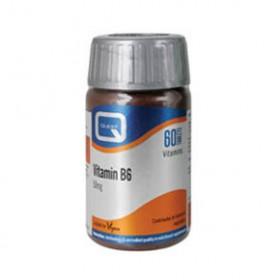 QUEST Vitamin B6 50mg με εκχύλισμα φύλλων μαιντανού 60 tabs