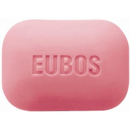 EUBOS Solid Red Στερεή Πλάκα Πλυσίματος 125gr