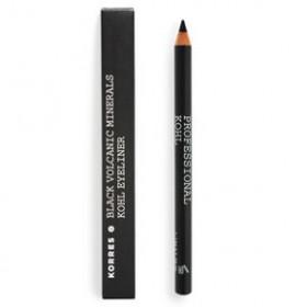 KORRES Black Volcanic Minerals Professional Kohl Eyeliner  01_Black