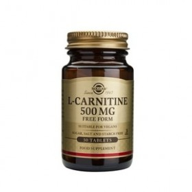 SOLGAR L-Carnitine 500mg 30 δισκία