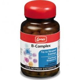 LANES B-Complex Βιταμίνες Β 60 κάψουλες