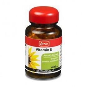 LANES Vitamin E Βιταμίνη Ε 400iu - 30 κάψουλες