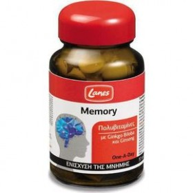 LANES Memory Πολυβιταμίνες με Gingo Biloba και Ginseng 30 ταμπλέτες