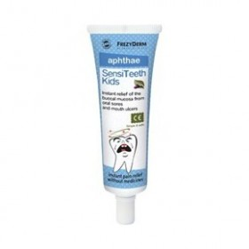 FREZYDERM SensiTeeth Kids Aphthae Gel - Ανακούφιση από Άφθες 25ml