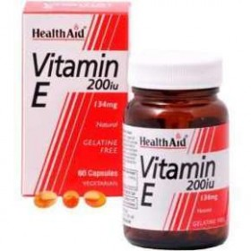 HEALTH AID Vitamin E 200 IU 60 caps