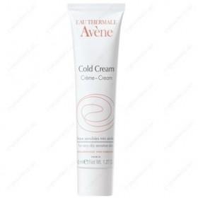 AVENE Cold Cream Κρέμα Προσώπου & Σώματος Βαθιάς Θρέψης & Ενυδάτωσης για το Ευαίσθητο και Ξηρό Δέρμα 40ml