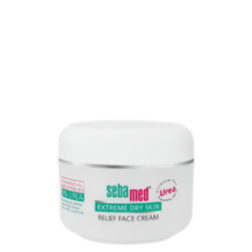 SEBAMED Extreme Dry Skin Relief Face Cream 5% Urea 50ml