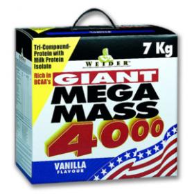 WEIDER Mega Mass 4000 Βανίλια 7kg