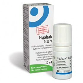 HYABAK Protector 0.15% Οφθαλμικές Σταγόνες 10ml