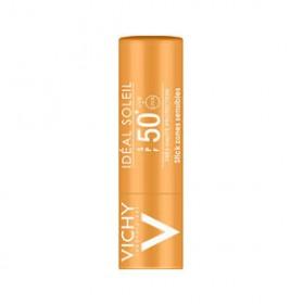 VICHY Ideal Soleil SPF50 - Stick για τις ευαίσθητες ζώνες 9g