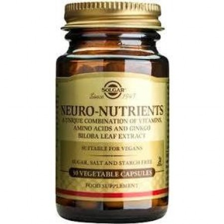 SOLGAR Neuro Nutrients 30 δισκία