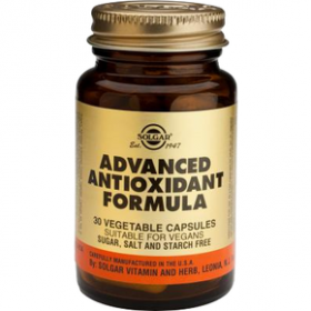 SOLGAR Advanced Antioxidant Formula 30 δισκία