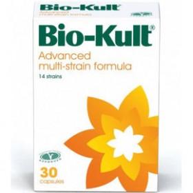 BIO-KULT Συμπλήρωμα Διατροφής με Προηγμένη Φόρμουλα Προβιοτικών 30 Κάψουλες