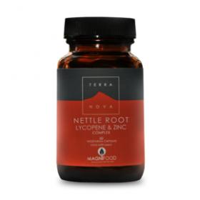 TERRANOVA Nettle Root , Lycopene & Zinc Complex 50 φυτικές κάψουλες