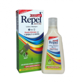 REPEL Anti-lice Restore Λοσιόν/Σαμπουάν 3 σε 1 200g