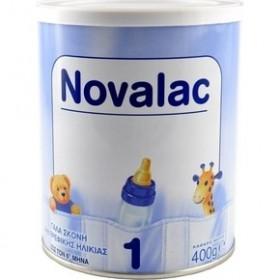NOVALAC 1 Γάλα σε Σκόνη Πρώτης Βρεφικής Ηλικίας εώς τον 6ο μήνα 400gr