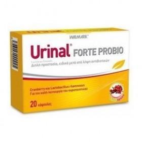 URINAL Forte Probio Με Εκχύλισμα Cranberry για την Καλή Υγεία του Ουροποιητικού 20caps