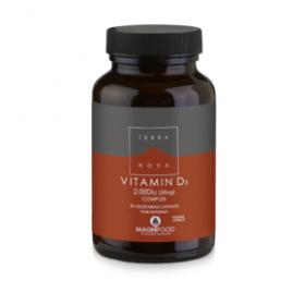 TERRANOVA Vitamin D3 Complex 2000iu 50caps